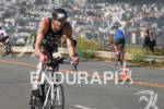 Andy Potts climbs out of the Presidio back to transition…