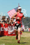 Jessica Smith finishes the 2012 Escape from Alcatraz Triathlon on…