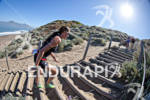 Jenny Fletcher makes her way up the sand stairs at…