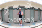 Triathlete after the finish