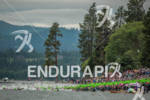 Mass swim start at the Ironman Coeur d' Alene on…