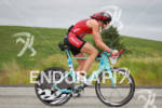 Heather Wurtele on her bike at the Ironman Coeur d'…