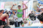 1st Tine DECKERS (BEL) crossing the finish line at 2012…