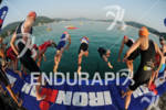 swim start at the Ironman Austria on July 01, 2012…