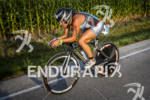 Julia Grant on the final miles at Ironman Muncie 70.3