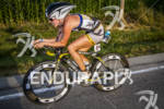 Lesley Smith on the bike at Ironman Muncie 70.3