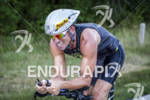 Jim Lubinski on the bike during a very hot race…