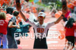 Marino Vanhoenacker at the finish at the Ironman European Championship…