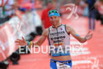 Andreas Raelert at the finish at the Ironman European Championship…
