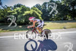Jeff Paul riding fast at the Ironman 70.3 Racine, in…