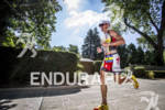 Crowie running strong at the Ironman 70.3 Racine, in Racine,…