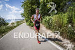 Blake Becker started his run strong at the Ironman 70.3…