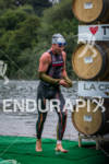 Joe Gambles exits swim at the 2012 Ironman 70.3 Vineman…