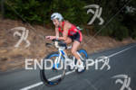 Meredith Kessler on bike at the 2012 Ironman 70.3 Vineman…