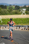 Greg Bennett runs uphill with the scenic Sonoma County in…