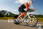 US Marine Logan Franks on bike at the 2012 Ironman…