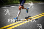 Andy Potts runs in first place at the 2012 Ironman…