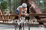 Romain Guillaume on the bike at the 2012 Ironman Lake…