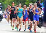 WOMEN RACE Leaders with winner Nicola SPIRIG (SUI), 2nd Lisa…