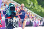 Laura BENNETT (USA) ON THE RUN at the 2012 London…