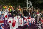 Japanese fans on the bike course  at the 2012 London…