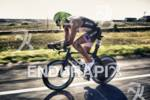 Matty Reed maintains a fast pace on the bike leg…