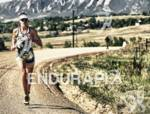 Mandy McLane hammers it out on the run course with…