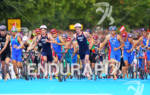 Leaders exiting T1 at the 2012 London Olympics Men's Triathlon