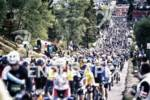 The mass wave start at the 2012 Leadville Trail 100…