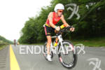 Luke Bell on bike at the 2012 Ironman U.S. Championships…