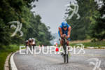 CHRISTIAN BRADER on bike at the 2012 Ironman U.S. Championships…