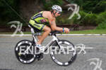 Brandon Halpin on bike at the 2012 Ironman U.S. Championships…