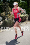 Sara Piampiano on run at the 2012 Ironman U.S. Championships…