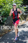 Kate Bevilaqua runs at the 2012 Ironman U.S. Championships on…
