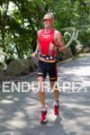 Luke Bell on run at the 2012 Ironman U.S. Championships…