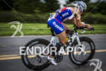 Jessica Jacobs on the bike at Ironman 70.3 Steelhead in…