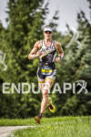 Mandy Mclane on the run course at Ironman 70.3 Steelhead…