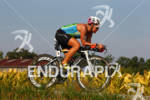 Bree Wee on her bike at the 2012 Ironman Louisville…