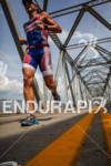 Thomas Gerlach runs over the 2nd Street Bridge at the…