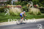 Elite women on the bike at the HyVee Triathlon on…