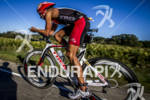 BLAKE BECKER on the bike at 2012 Ironman Wisconsin on…