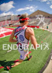 Ben Hoffman leading through the Camp Randall stadium on the…