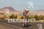 Leanda Cave on bike and on the way to victory…