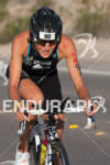 JEANNE COLLONGE on bike at the 2012 Ironman 70.3 World…
