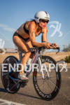 MAGALI TISSEYRE on bike at the 2012 Ironman 70.3 World…