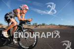 MANDY MCLANE on bike at the 2012 Ironman 70.3 World…