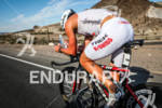 Joe Gambles on the bike at the 2012 Ironman 70.3…