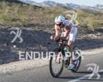 Joe Gambles, AUS on the bike course at the 2012…