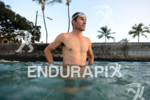 Craig Alexander starts his pre-race swim training of the 2012…
