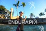Natascha Badmann during her pre-race swim training of the 2012…
